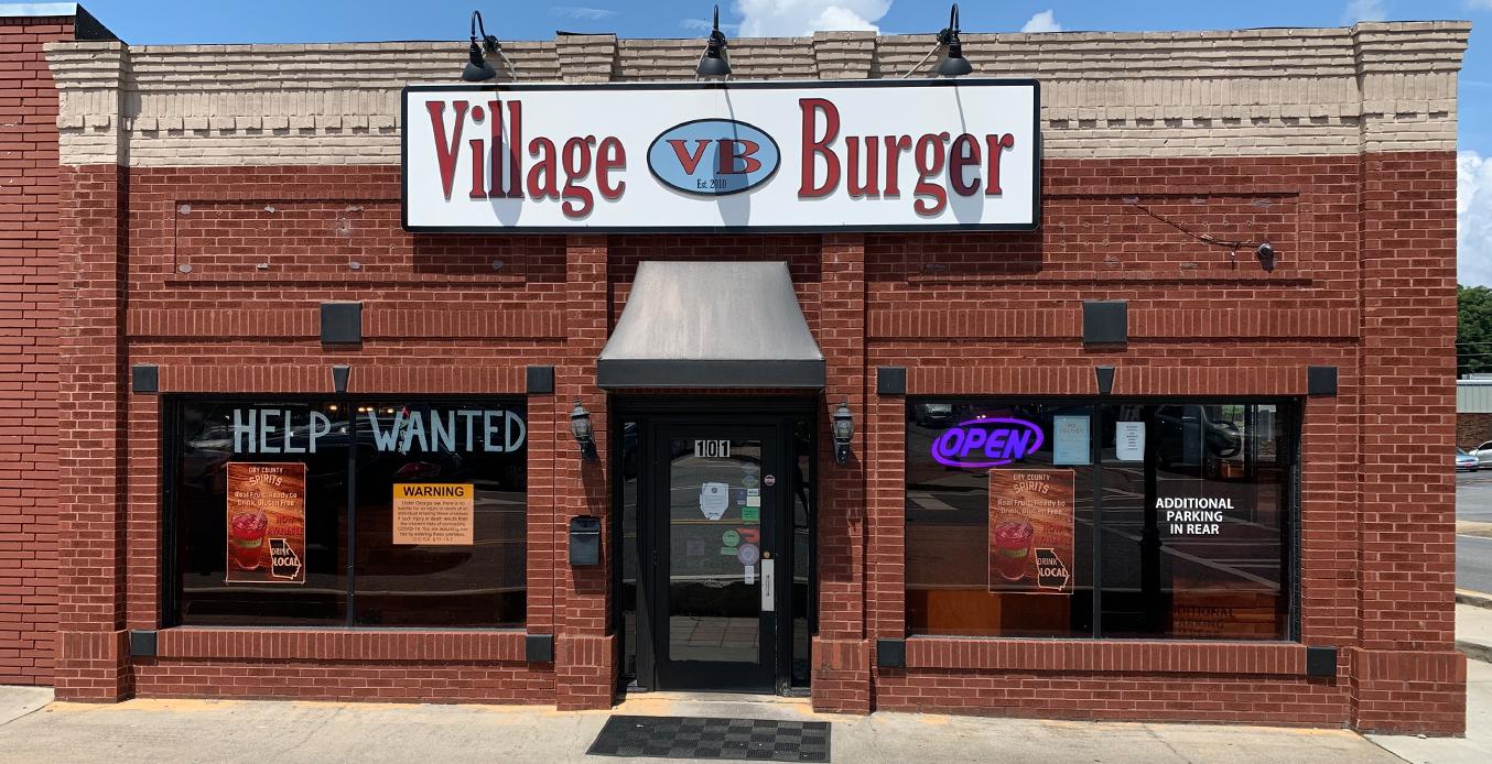village burger front entrance
